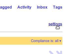 Click settings