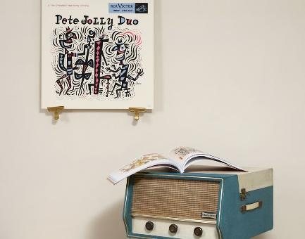 Pete Jolly Duo silkscreen edition of 125 by Jim Flora
