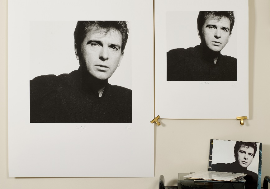 Peter Gabriel 'So' edition of 25 and 100 by Trevor Key