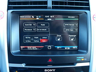 Ford SYNC album art - bliss