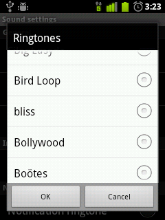 The new bliss ringtone