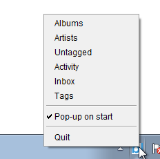 Pop-up on start