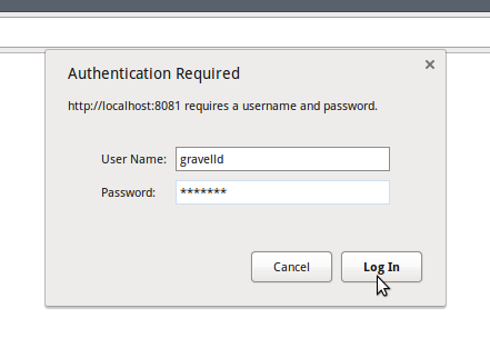 Authentication challenge