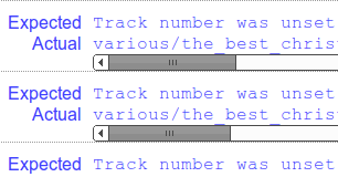 Track number was unset screenshot