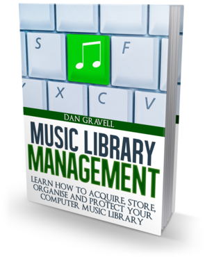 Music Library Management ebook boxshot
